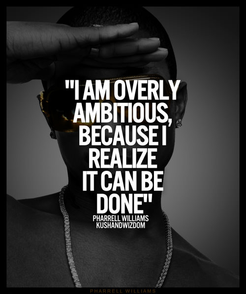 Fuelism #1766: I am overly ambitious, because I realize it can be done.: I am overly ambitious, because I realize it can be done.