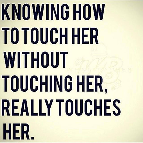 Where to touch her