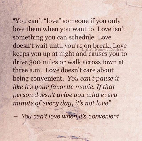 Being In Love With Someone You Cant Have: Love #105: You Can't Love Someone If You Only Love Them