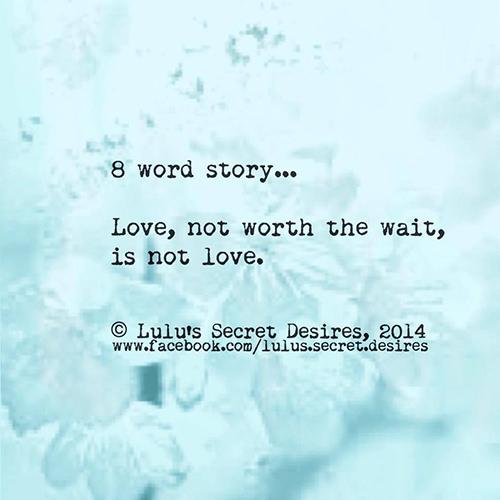 word love story